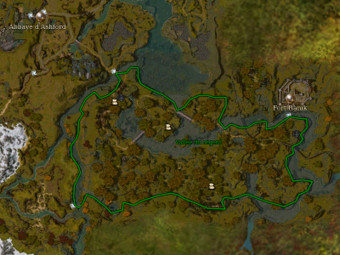 Carte générale - Vallée du régent
