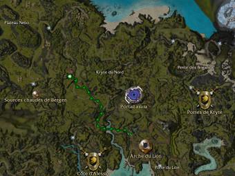 Carte de la quête: Avis de recherche: Sarnia aux mains rouges