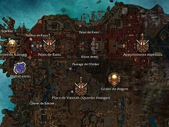 Carte générale - Passage de l'Ombre