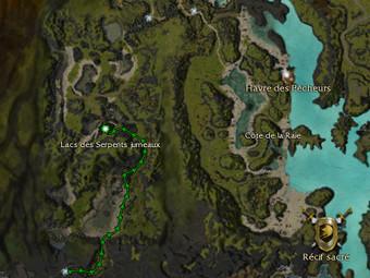 Carte de la quête: Avis de recherche: Valis l'effréné