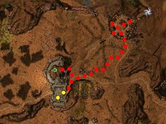 Carte détaillée - Baie de Nundu (Mission en mode coopératif)