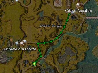 Carte de la quête: L'aventure continue