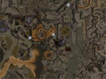 Carte détaillée - Cité d'Ascalon