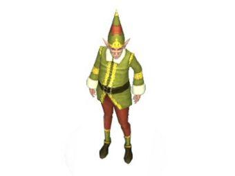 Elfe miniature