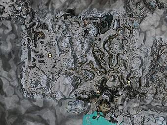 Carte détaillée - Pente du Talus