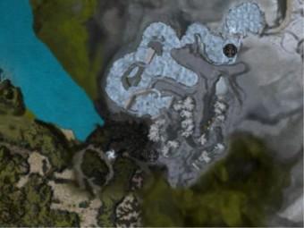 Carte détaillée - Gueule du Griffon