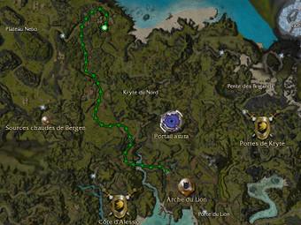 Carte de la quête: Avis de recherche: Inquisiteur Lashona