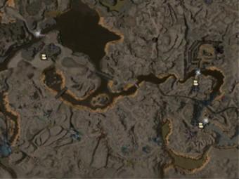 Carte détaillée - Vallée du régent