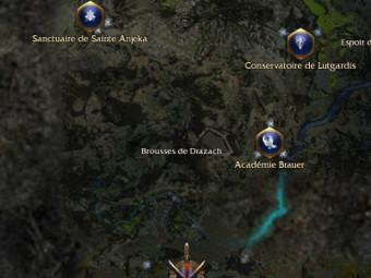 Carte générale - Brousses de Drazach