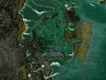 Carte générale - La Carrière de Jade