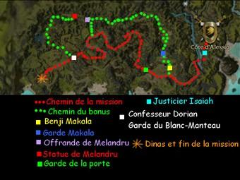 Carte générale - Côte d'Alessio (Mission en mode coopératif)