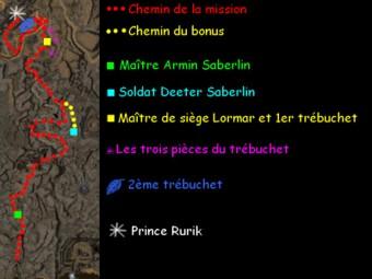 Carte générale - Fort Ranik (Mission en mode coopératif)