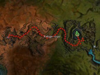 Carte de la quête: Réquisition d'un réceptacle mortel