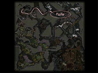 Carte générale - Faille