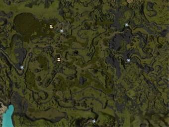 Carte détaillée - Le Rideau Noir