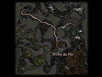 Carte générale - Arche de Fer