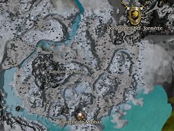 Carte générale - Banquise de Glace