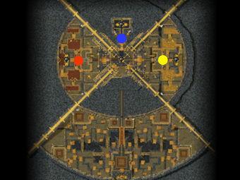 Carte générale - Panthéon des Héros
