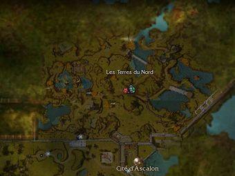Carte Boss - Les Terres du Nord