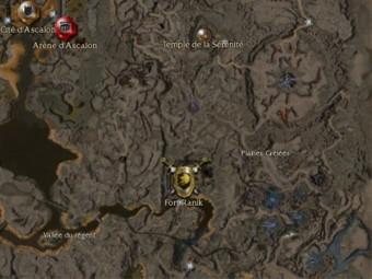 Carte générale - Plaines Grêlées