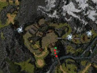 Carte de la quête: Aller voir le professeur Zhan