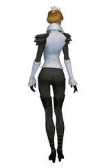 Armure d'Ascalon pour envoûteur (Femme) - Gris Dos.jpg