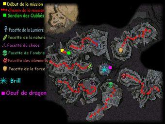 Carte de la quête: Antre du Dragon (Mission zaishen)
