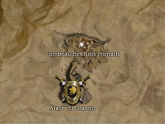 Carte générale - Tombeau des Rois Primitifs