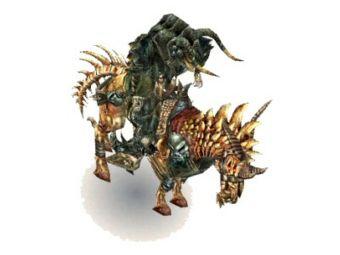 Nécro-cavalier miniature
