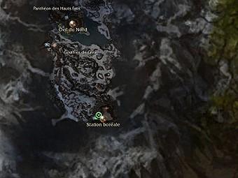 Carte générale - Station boréale