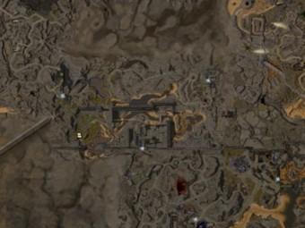 Carte détaillée - La Brèche du Rempart
