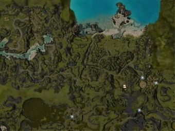 Carte détaillée - Côte des Tours de Guet