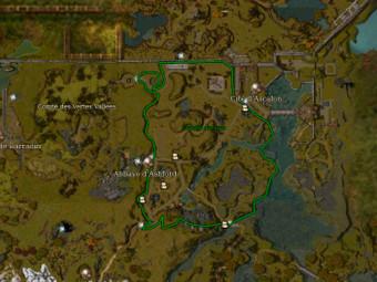 Carte générale - Comté du Lac