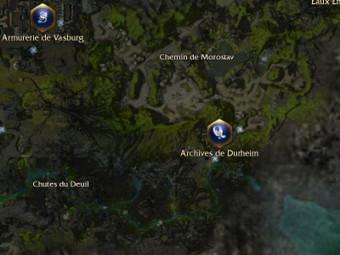 Carte générale - Archives de Durheim