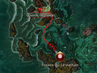 Carte de la quête: Toujours plus près du gouffre
