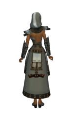 Armure élonienne pour derviche (Femme) - Gris Dos.jpg