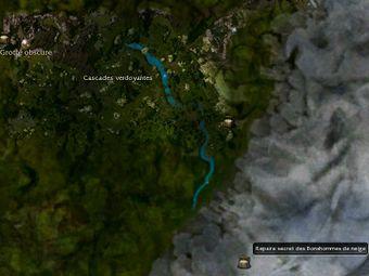 Carte générale - Repaire secret des Bonshommes de neige