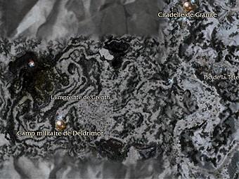 Carte générale - Camp militaire de Deldrimor