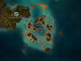 Carte générale - Archipel de Mehtani