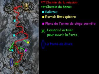Carte générale - La Porte de Givre (Mission en mode coopératif)