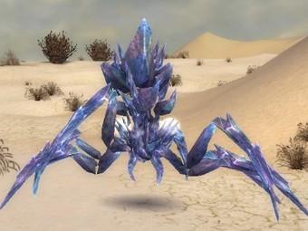Araignée de cristal