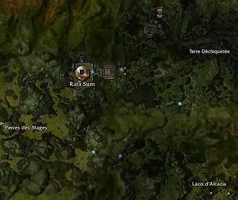 Carte générale - Rata Sum