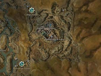 Carte générale - Amphithéâtre de Bokka