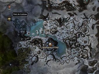 Carte générale - Point du Corbeau