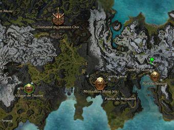 Carte de la quête: Un traité est un traité