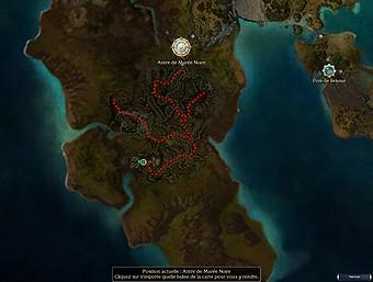 Carte générale - Antre de Marée Noire (Mission en mode coopératif)