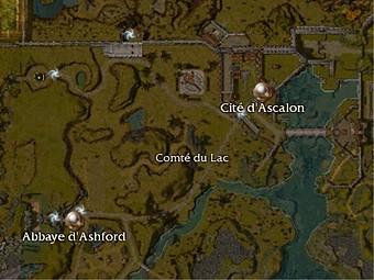Carte générale - Cité d'Ascalon