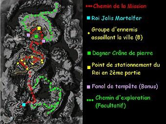 Carte générale - Donjon de Chef-Tonnerre (Mission en mode coopératif)