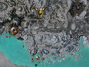 Carte générale - Le palais de Witman