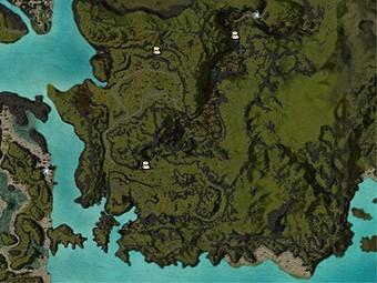 Carte détaillée - Pic Kesse